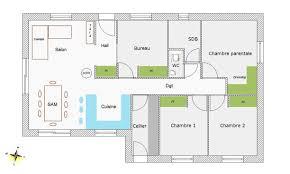 plan maison etage 4 chambres gratuit plan maison 4 chambres gratuit 5 impressionnant de moderne a etage