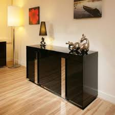 Black Modern Sideboard Furniture Black Modern Sideboard With Stainless Legs For Modern