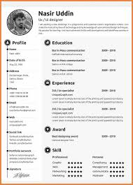 Attractive Resume Template Attractive Resume Format Sop Proposal