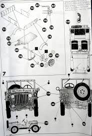 ww2 jeep drawing willys jeep sk model 1114