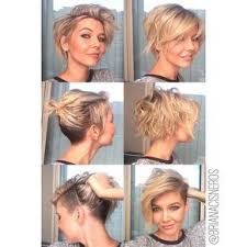short haircuts to cut yourself super versatile undercut i started with a short square bob