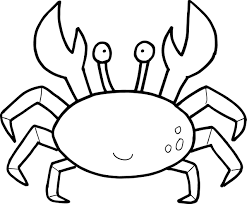 free printable crab coloring coloring