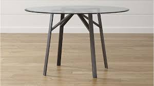 Round Dinette Table Round Glass Dining Tables That Make A Stylish Impression