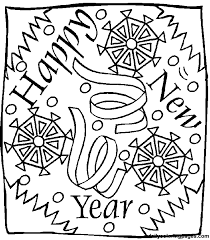 pictures new year coloring pages 42 for coloring print with new