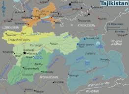 Iso Map Maps Of Tajikistan Detailed Map Of Tajikistan In English
