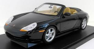black porsche convertible gate 1 18 scale diecast 01053 porsche 911 996 cabriolet black