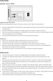 rca remote manual fw1315b bluetooth soundbar speaker user manual users manual zhuhai