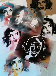 How To Graffiti With Spray Paint - creating complex spraypaint stencils by hand stenciling