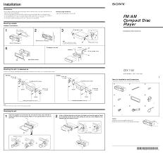 sony xplod radio wiring diagram u0026 sony cdx gt240 wiring diagram
