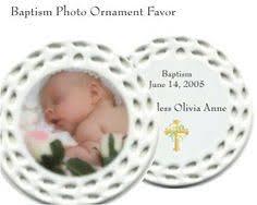 baptism ornament favors porcelain photo ornament personalized baptism favors volume