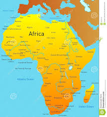 World Map Of Africa by Map Of Africa Royalty Free Stock Images Image 5937279