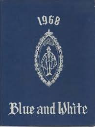 classical high school yearbook 1968 classical high school yearbook blue white springfield