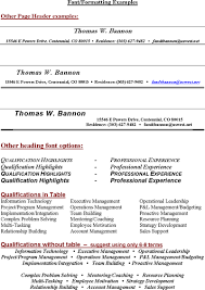 resume header free sle resume headings