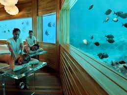 11 coolest underwater hotels in the world photos condé nast