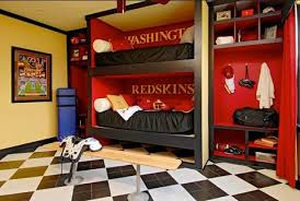 Decorating A FootballThemed Room For Kids New Home Source Blog - Kids football room