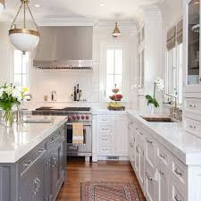 Gray And White Kitchen Cabinets 496 Best Kitchens Images On Pinterest Kitchen Kitchen Ideas And