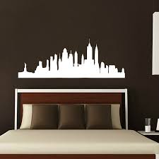 new york city home decor wall decals new york city decal vinyl sticker home decor bedroom
