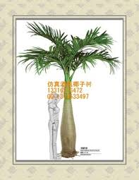 wholesale windproof artificial bottle coconut tree small