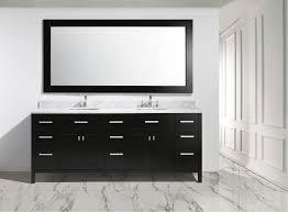 Bathroom Vanity Outlet by 84 Inch Espresso Finish Double Sink Contemporary Bathroom Vanity