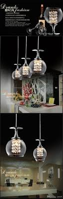 Wine Glass Pendant Light Wine Glass Pendant L Modern Clear Wine Glass Pendant