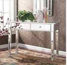 Glass Vanity Table With Mirror Mirrored Vanity Table Ebay