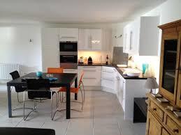deco cuisine americaine cuisine et salon moderne inspirational awesome deco salon blanc avec