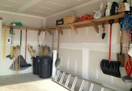 Building Wood Shelves Garage by Garage Wall Storage Diy Storage Decorations