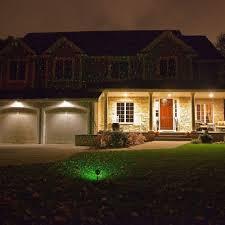 outdoor christmas festive projector garden ground spike spotlight