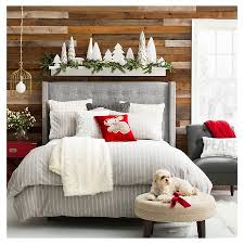 White Christmas Decorations Target by Cozy Holiday Bedroom Collection Target Christmas Pinterest
