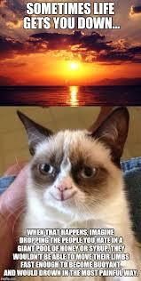 Motivational Memes - grumpy cat version of those inspirational motivational memes imgflip