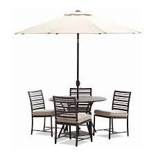 Outdoor Patio Set With Umbrella Patio Breathtaking Patio Furniture Umbrella Brown Oval
