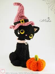amigurumi witch pattern amigurumi pattern halloween kitten misha tarturumies