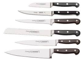 walmart kitchen knives tramontima century collection 7 knife set with holder