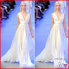 wedding dress lk21 s l twist jersey gown by elie saab b1 evening wear