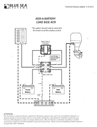 blue sea add a battery wiring diagram wiring diagram and