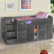 Twin Captains Bed With Drawers Berg Furniture Sierra Captain U0027s Twin Bed With Drawers Cabinet