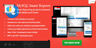 Table Maker Online Mysql Smart Reports Online Report Generator With Existing Data