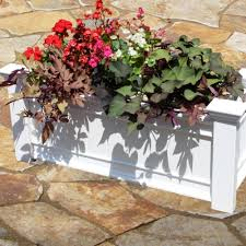 windsor long vinyl planter box new england arbors