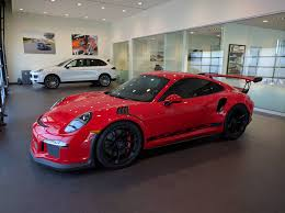 porsche 911 gt3 rs dressed in ferrari rosso corsa is supercar