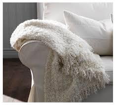Ikea Faux Fur Throw White Fluffy Throw Blanket Faux Fur Throw Mole Grey Ivory White