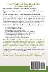 alkaline diet the alkaline meal plan to balance your ph reduce