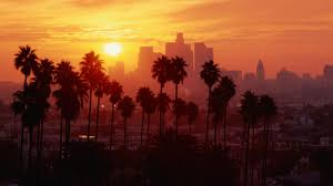 los angeles sunset palm trees wallpapers hd desktop and mobile