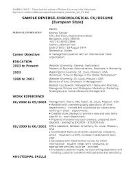 Resume Style Guide Management Resume Sample Example Of Business Letter Full Block