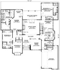 home plans with in suites 654269 4 bedroom 3 5 bath traditional house plan with two 2