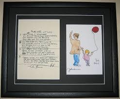 biography of john lennon in the beatles the beatles john lennon in my life hand written lyrics the best