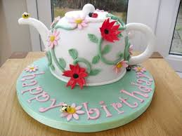 70th birthday teapot cake cakecentral com