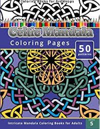 amazon celtic designs coloring book adults 200 celtic