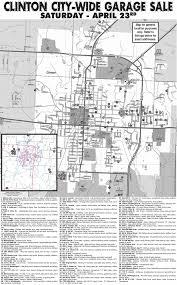 Lincoln City Map City Wide Garage Sale Map Clinton Missouri