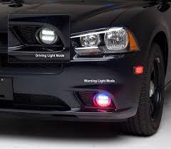 2012 dodge charger fog light bulb 3 5 led lightheads with clear extended lens whelen