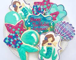 seashell shaped cookies sea shell cookies etsy